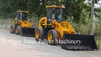 2 ton CE approved mini ZL20F wheel loader, very good performence and good quality