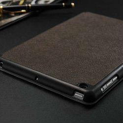 2015 Wholesale China luxury leather book cover for ipad mini,real leather case for ipd mini with fold function
