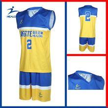 Healong 3D Sublimation Wholesale Basketball Training Wear