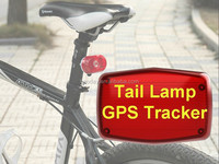 2015 Taillight shape, waterproof design,easy to hide and outdoor installation GPS tracker 304B used for motorcycle and bicycle