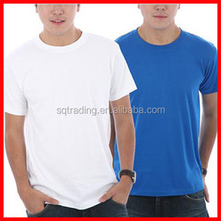 1 dollar t shirts 100%cotton 160gsm blank white