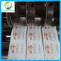CMYK printing E-Liquid label stickers packaging, customized waterproof plastic bottle label, adhesive bottle labels printied