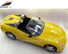 2015 hot sell ferrari protable mini open car speaker for mobile phone computer