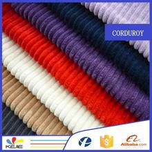 cheap 100% cotton corduroy continuous curtain fabric