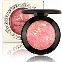Brand New Mivagirl Cosmetic Face Makeup Baked Blush Blusher Palette Red Cheek Cream 7 Colors 7.5g M04