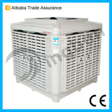 Hot Sale Plastic Wall Mounted industrial cooling pad air cooler body plastic