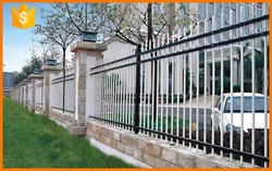 Steel and Aluminum metal fence panels with trade assurance