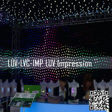 new product 2014 flexible led curtain display