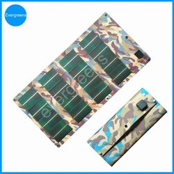2015 new product 12W flexible and foldable CIGS solar charger for car battery