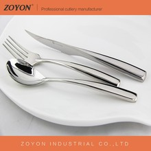 High quality mirror polish stainless steel flatware