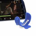 Touch- u um- de toque do telefone de silicone titular stand para o telefone móvel