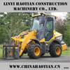 1 Ton NC910 Mini wheel loader for sale manufacture with front end loader and v type snowplow