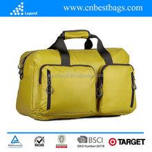 2015 New Design Polyester Custom Travel Bag for men