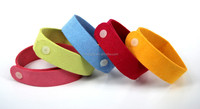 Anti mosquito bracelet ajustable for adults and kids made of Ultra micro Fiber