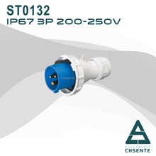 2015 Newest European Three-phase Electric plug & socket with CE CCC CB Certification