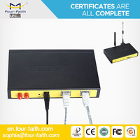 F3824 F3824 industrial rugged stable MC7304 MC7354 module 4G LTE MODEM ROUTER with WIFI VPN