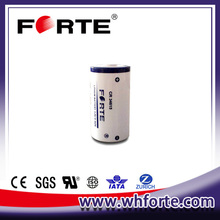3.0v 12Ah Cylindrical CR34615 Lithium Battery for electricity meter