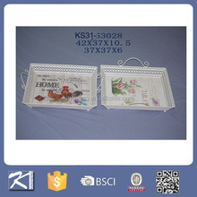 Trade assurance supplier on OEM Melamine Food Tray with handles