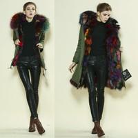 designer ladies faux furs new design korean winter coats