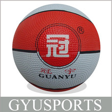 GY-D028 hot sale multi-sized basketball balls for children