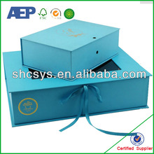 high quality paper gift box