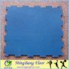 interlocking gym rubber flooring mat black color for heavy duty gym equipment