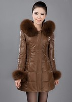 Женская одежда из кожи и замши