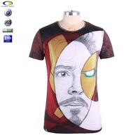 Custom digital printing tirupur t shirts wholesale china