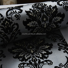 korean design 3d effect wallpaper for restaurant decoration