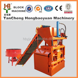 hby1-10 intelocking ecological brick machine soil cement