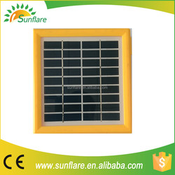 1.7w polycrystalline price per watt solar panel for home use