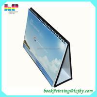 high quality desk flip calendars cardboard table calendar design