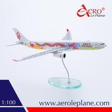 Airlines Plane Model A330-300 Dragonair Resin Plane Model scale 1/100