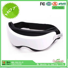 CE,RoHS Vibrating Kneading Eye Massage Machine With Music Function As Seen On TV FCL-M23 Relaxing Eye Massager