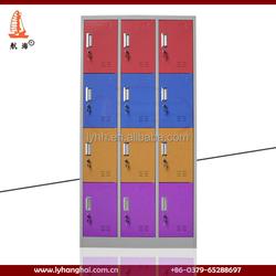OR-CCC12061 Practical Colorful 12 Door Steel Storage Foot Locker