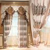 Elegant 100% Polyester Embossed Curtains and Drapes