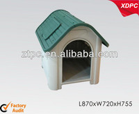 Large plastic dog house with window