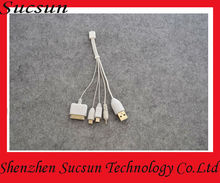Newest mobile phone charger cable for Nokia c3/iPhone etc