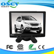 """7""""auto +wireless vista posteriore del monitor lcd a specchio"""