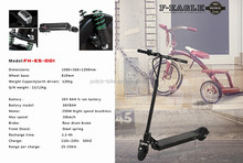 promotional 250W electric scooter/small folding electric scooter/mini electric motorcycle