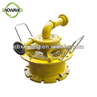 Water Driven Gas Freeing Fan