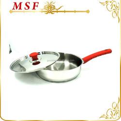 Special handle & knob design frying pan