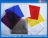 Dichroic acrylic sheet construction building 100% virgin material supplier in goldensign