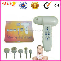Au-019 Handheld electric facial cleansing rotary brush for gentle skin care machine