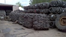 baled tire, tire scrap, waste tire, used tire