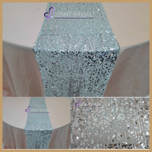 SQN#69 wholesale and cheap sliver sequin table runner