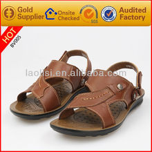 stock classic design men leather casual shoes