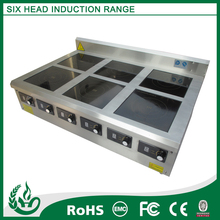 Inducción utensilios de cocina ( 6 quemador de gama )
