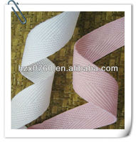 Plain Dyed satin rose ribbon fabric for bandage dress