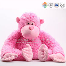 Lovely plush red monkey toys, plush toys monkey,stuffed monkey toys